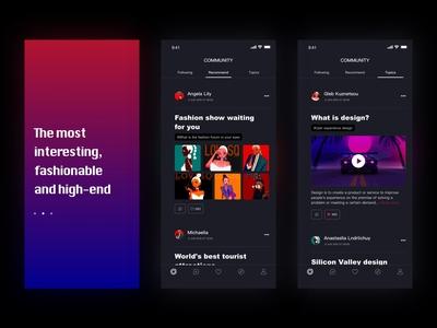 Unight redesign_ App(Black mode)