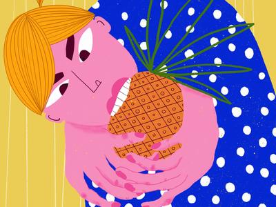 Ksu likes pineapples
