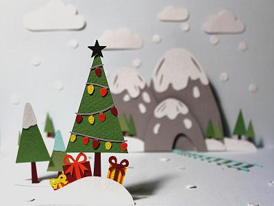 Paper New Year фотография бумажная иллюстрация new year дизайн книжная иллюстрация иллюстрация paper