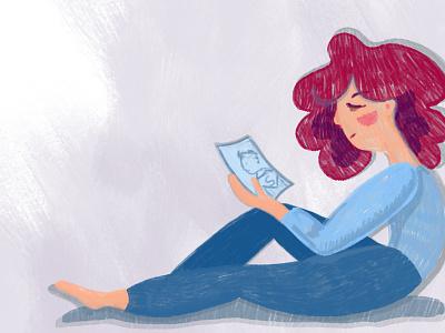 Non-reciprocal love love non-reciprocal love дизайн иллюстратор книжная иллюстрация иллюстрация