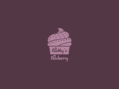 Daily logo challenge | Day 18 bakery cupcake logomark adobe cc logotype illustrator logochallenge dailychallenge dailylogo logo logodesign dailylogochallenge brand identity graphic design