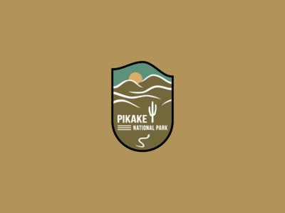Daily logo challenge | Day 20 badge design badge national park badge logo adobe cc logochallenge dailychallenge dailylogo logomark logodesign logo illustrator dailylogochallenge brand identity graphic design
