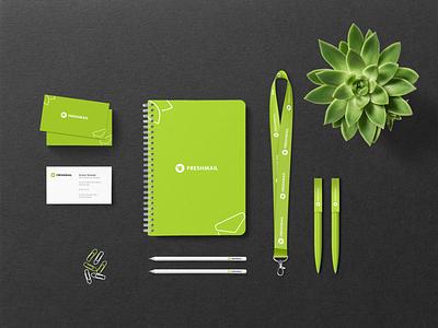 Freshmail Branding visual identity brand identity logotype logo branding