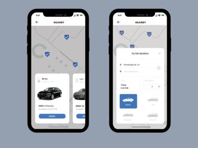 Car Rental Ios Mobile App
