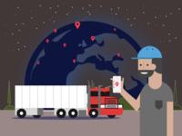 illustration for transportation management system