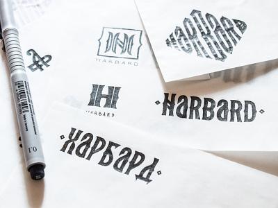 Logo sketching identity illustration minimal grid grid logo typography type logo design branding