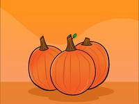 Dribbble Pumpkin