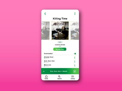 Spotify UI/UX