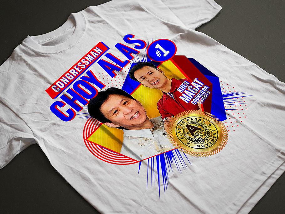 Congressman Choy Alas Logo graphic design logo vector branding design