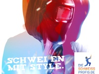 Die Schweiss Profis Creative Ad