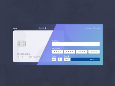 DailyUI - 002 - Credit card checkout