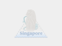 Singapore stamp - Weekly warm-up