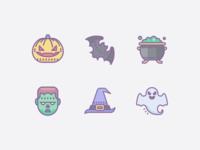 Dusk Icons: Halloween