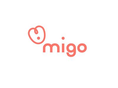 migo animal logo animal logodesign identitydesign typography design branding logo
