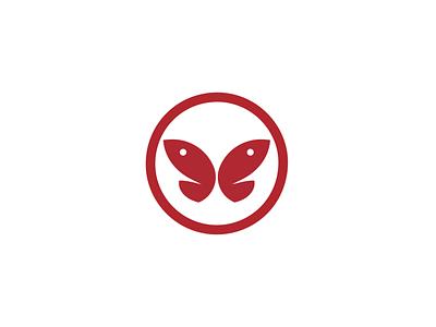 Butterfly Fish – Japanese Kamon style logo – fish fish logo butterfly logodesign identitydesign logo japanese kamon
