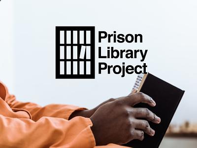 Prison Library Project rebrand rebranding library logo booklogo prison logo design logodesign identitydesign design branding logo
