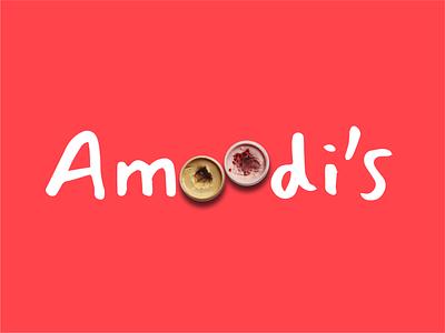Amoodi's icecream rebranding logo design typography logodesign identitydesign design branding logo
