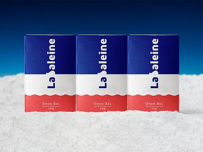 La baleine -Rebranding concept for French sea salt brand- package branding design logo