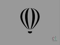 Air Balloon Icon - 2nd try