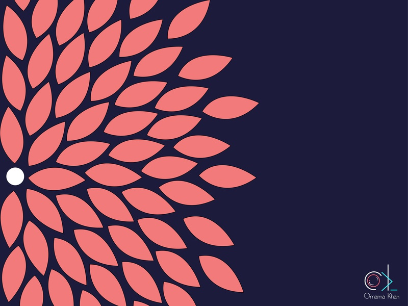 Flower Background By Omama Mazhar Khan On Dribbble