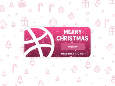 Deribbble Invaitation flat ticket adobe xd christmass iran design invitation card invitation invite deribbble