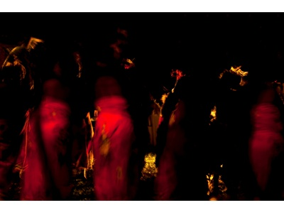 African Dancers dance photograph photography motion blurred tribal abstract colourful africa traditional wedding dancers women