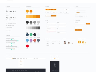 UI style guide style guide guidelines guide style website web colour form interface buttons icons ui