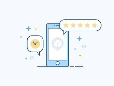 Feedback feedback design graphic illustration icon
