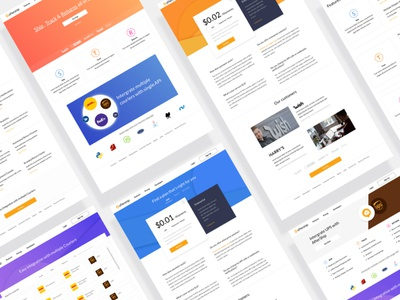 Design Sprint : Merge Products product design sprint tracking ecommerce uiux couriers shipping flat website web