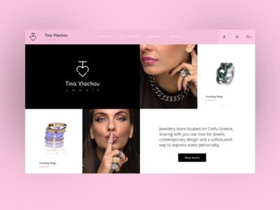 Jewellers e-commerce website