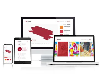 Umton branding agency illustration homepage color colors website ui design mobile webdesign 2020 brand ux ui umton