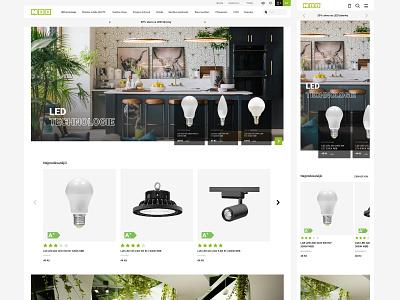E-shop design 2021 desktop mobile design agency branding light clean elegant webdesign agency e-shop e-shopping homepage prototype