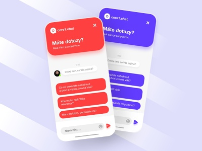 Support chat help support chat agency branding ux app mobile design