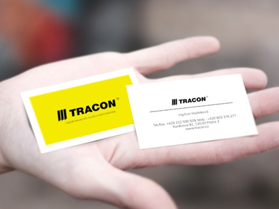 Business card TRACON