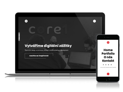 core1.agency new website