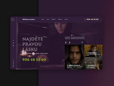 Webdesign of fortune tellers shot video new design brand apartments ui homepage agency website 2019 webdesign branding