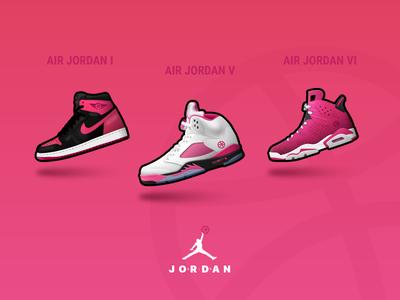 AIR JORDAN Sneaker for Dribbble illustration dribbble jordan basketball nike 6 5 1 shoes sneaker air jordan aj