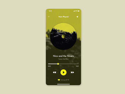 Music Player - Daily UI #9 dailyui009 musicapp twenty one pilots player ui music player music app dailyui brand identity dailyuichallenge daily 100 challenge ecommerce wordpress development branding wordpress design dizzarro design