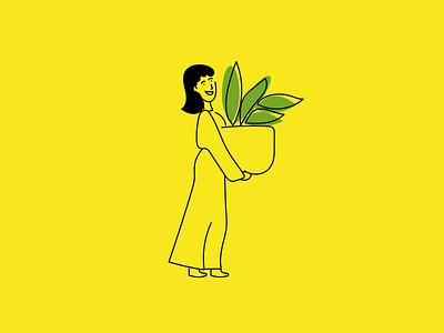 Plant Lover doodles doodle design illustrator sketches 100daychallenge illustrationoftheday 100daysofillustration minimal illustration