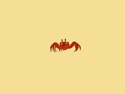 Oh crab 🦀 design sketch illustrator flat illustration illustrationoftheday minimal