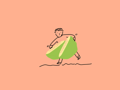 Careful with the guavas simplelines fruit guavas 100daychallenge 100daysofillustration sketches minimal flat illustrator illustrationoftheday illustration
