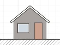 Simple House Icon Illustration