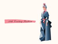 19th Century Geometric Fashion 01