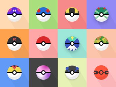 Pokeball Icons