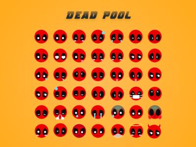 Deadpool Emoji   Dribbble