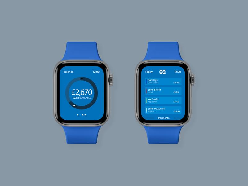 Halifax watchOS App Concept