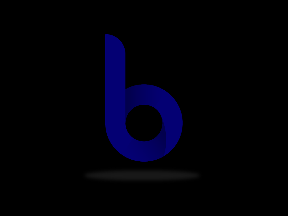 Daily Challenge daily challange experiement floating shadow brandig logo typography adobe illustrator blue simple