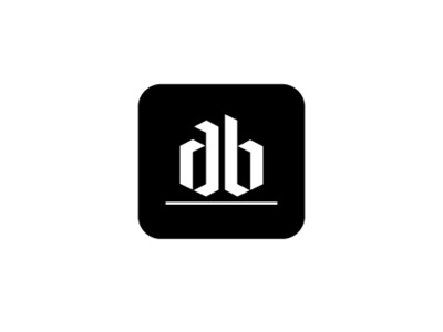 AB logo design ui illustrator simple design classy logo brandig typography digital design