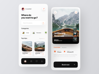 Travel App Concept trip vacation tourism app travel travel app clean minimalist minimal innovation ux ui mobile design app
