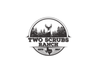 My second concept for private ranch logo